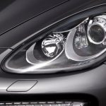 Headlights on a 2011 Porsche Cayenne